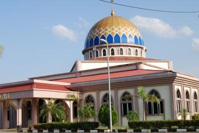 The nice masjid of Jeli