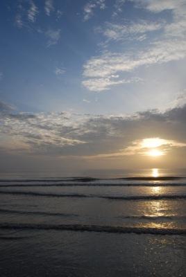 'Goodbye Melawi sunset...'