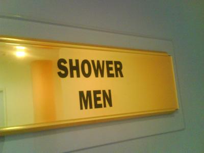 'Is it a bird? Is it a plane? No sir, it's, er, Shower-men'